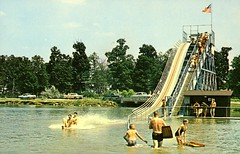 Sea Slide, Lake of the Woods, Mahomet, Ill. (The Urbana Free Library Digital Collections) Tags: mahomet lakeofthewoods