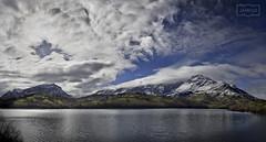 Alfilorios (Jose Antonio. 62) Tags: asturias españa spain alfilorios nature naturaleza clouds nubes lake lago montañas mountains sierradelaramo nieve snow monsacro
