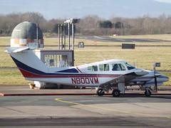 N800VM Beech Duchess 76 Private (Aircaft @ Gloucestershire Airport By James) Tags: gloucestershire airport n800vm beech duchess 76 private egbj james lloyds
