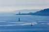 La roche Mengant et le phare du petit Minou (Carlos Martín Díaz) Tags: brittany brest lighthouse boat bluesea blue ocean