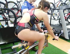 Alba Álvarez triatlón Indoor team clavería triatlón World 9
