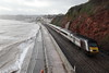 43301 Dawlish, Devon (Paul Emma) Tags: uk england dawlish devon railway railroad dieseltrain train sea coast beach 43301 hst