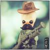 Outlander (Priovit70) Tags: lego minifigure spacecowboysaturday rifle brickwarriors