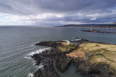 Elie Ness (ShinyPhotoScotland) Tags: art composition places scotland nature contrasts rawconversion dcraw light manipulated composite enfuse photography equipment camera darktable sunlight hdr water digikam people transport drone dji highviewpoint phantom4advanced sidelit rockwater sea coast fife fifecoastalpathroute elie environment abuse fossilfuel oil oilrigs walking path building tower unitedkingdom gbr
