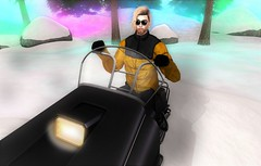 Snowbunny (EnviouSLAY) Tags: snowmobile floorplan exile blond unisex pufferjacket puffer jacket yellow leggings sunglasses black snowscene snow scene secondlifefashion secondlifephotography colorful belleza bento lelutka hxnor valekoer vale koer flite newreleases new releases tmd c88 themensdepartment collab88 the mens department pale male gay blogger secondlife second life fashion photography mensmonthly mensfair mensfashion mensevent event fair monthly monthlymens monthlyfashion monthlyfair monthlyevent
