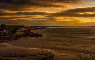 Sunset Scotland.