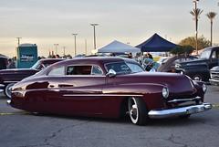 Mooneyes X-Mas Party 2017 (USautos98) Tags: 1950 mercury traditionalhotrod streetrod kustom fatboy leadsled