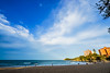 DSC00970 (Damir Govorcin Photography) Tags: sky clouds wide angle sand water sea manly beach sydney natural light zeiss 1635mm sony a7ii