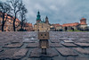 Danbo in Wawel castle (Vagelis Pikoulas) Tags: wawel krakow poland castle view road street travel tokina 1628mm landscape city cityscape urban toy town old castel fortress colors danbo november autumn 2017 clouds cloudy day canon 6d