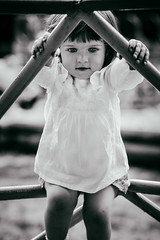 To jump or not to jump? (Unicorn.mod) Tags: 2017 bw monochrome outdoor child girl manual manuallens manualshooting myfocus samyang85mmf14asifumc canoneos6d samyang