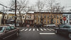 Woodhaven (Juni Safont) Tags: newyorkcity nyc woodhaven queens street rowhomes architecture cloudy overcast rain