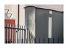 i (hélène chantemerle) Tags: murs grilles ombres reflet lumière gris rouge rue urbain soleil walls fences shadows reflection light street urban city sun red gray