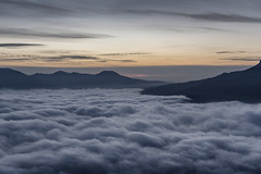 Above the clouds (Khuroshvili Ilya) Tags: clouds sky mountains winter outdoor nature landscape sunset evening outdoors crimea