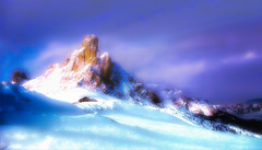 Cime Tempestose (Gio_guarda_le_stelle) Tags: dolomiti dolomites dolomiten mountainscape snow ice wind italy cool mountain