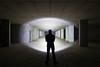 Revelation (stephenk1977) Tags: australia queensland qld nikon d3300 klarusxt2cr flashlight torch beam pillars urbex abandoned basement subterranean underground night