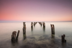 Not much left (stevecart84) Tags: pier jetty sunrise longexposure cliftonsprings seascape nature outdoors nikon cokin d7200