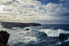 Ocean Waves (sam.villaver) Tags: wild nature asturias nikon d3100 naturaleza salvaje paisaje agua water roca clouds nubes landscape cielo sky sunset atardecer olas waves sea mar ocean oceano cliffs acantilados skyline horizonte blue azul profundidaddecampo depthoffield hyperfocal hiperfocal