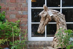 Sissinghurst Castle and Garden - Where the Mane Attraction Will Set You Back £150! (antonychammond) Tags: sissinghurst sissinghurstcastlegarden horse horsesculpture kent vitasackvillewest haroldnicolson nationaltrust contactgroups anticando saariysqualitypictures