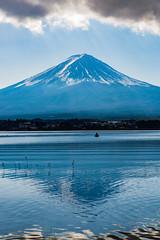 Mt. Fuji / Fujiyama / 富士山 (hiroshiken) Tags: fujikawaguchikomachi yamanashiken 日本 jp 20171215 kawaguchiko 河口湖 mountain fuji fujiyama 河口湖自然生活館 naturallivingcenter north