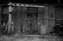 Vrata / Gate (Martin Hofman) Tags: dveře gate blackandwhite