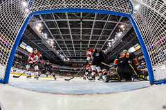 """Kansas City Mavericks vs. Cincinnati Cyclones, February 3, 2018, Silverstein Eye Centers Arena, Independence, Missouri.  Photo: © John Howe / Howe Creative Photography, all rights reserved 2018. • <a style=""""font-size:0.8em;"""" href=""""http://www.flickr.com/photos/134016632@N02/40119451271/"""" target=""""_blank"""">View on Flickr</a>"""