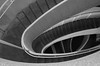 """""""One With a Twist"""" (Photography by Sharon Farrell) Tags: steps stepsandstairs stairs stairporn staircases staircase stairscape stairway stairwell spiralstaircase spiral spiralabstract blackandwhite monochrome noiretblanc stairlover grandstaircase lewiscenterforthearts princetonuniversity princetonuniversitycampus princeton princetonnj princetonnewjersey panjpte abstract abstractphotography abstractarchitecture abstracts"""