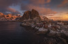 Reine, Lofoten (Toni_pb) Tags: lofoten reine artic ártico norway noruega light redcabins cabañasrojas worldphotoxperience tonipou water waterscape warm wild winterscape seascape sky sunset sea snow stones d810 nikon nature nikkor1424f28 paisaje landscape panorama panoramica pano panoramic minimalist mystic mountain