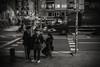 Night in the city...... (Dafydd Penguin) Tags: blackandwhite blackwhite black white monochrome mono bw people street night raw shots after dark candid barcelona barceloneta catalunya catalonia spain leica m10 summicron 35mm f2 asph