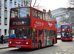 KV02URT (PD3.) Tags: kv02urt kv02 urt alexander julia aldwich aldwych london bus buses england uk sight seeing sightseeing psv pcv open top topper topless tour tourbus