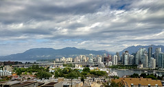 Downtown Vancouver (Warp Factor) Tags: summer2017 vancouver downtown clouds city core ipodphoto yvr