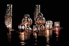 It's always Christmastime in Marrakech (Shahrazad26) Tags: marrakech marokko maroc morocco light licht darkness duisternis donker