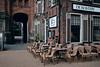 Groningen, Netherlands (LucasRebmannPhotography) Tags: groningen 2017 2018 fujifilm x100f x 100 f netherlands niederlande holland street photography 23mm 35mm lucas rebmann sky water flower window reflection woman shop house city