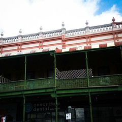 johnston st (AS500) Tags: annandale johnston st heritage building green iron lace lacework