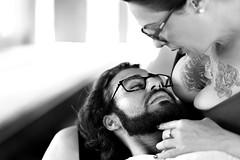 Ensaio Adriana-69 (Adriana.Britto) Tags: ensaio photo photografy photographe love amor casal femme woman homem mulher glasses pb pbr pretoebranco blackwhite blackandwhite portrait pinup tattoo