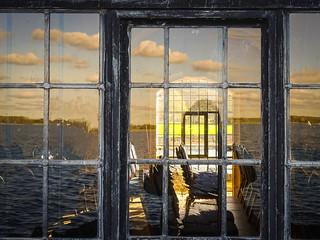 Through the Church Window...