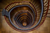 Mesmerised (G-WWBB) Tags: messberg messburg1 staircase spiral spiralstaircase stairs tiles hamburg germany building stairway architecture