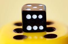doppel-sechs+5 (Thomas Rausch (!)) Tags: macromondays lessthananinch würfel cube brettspiel focusbracketing picolay zuiko2860mmmacroed