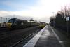 43194 Dawlish Warren, Devon (Paul Emma) Tags: uk england dawlish devon railway railroad dieseltrain train sea coast beach dawlishwarren hst 43194