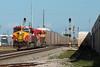 Redemption (brickbuilder711) Tags: fec florida east coast train 109 es44c4 gevo miami hialeah iris interlocking trains railway railroad crossing diamond