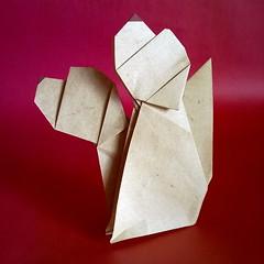 Brothers dogs - Cani fratelli - Stefano Borroni (Stefano Borroni (Stia)) Tags: origami cane dog animali perro kunz natura origamilove cinese annodelcane zodiaco papiroflexia folding paper carta piegarelacarta cagnolino arte cani fratelli animals dogs