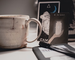 day by day (cathy sly) Tags: 365 mydesk mug journal refectiononlife 10365