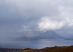 Cuillin from The Bealach (omarkhyam600) Tags: redcuillin storm isleofskye scotland bealachnaba applecross coast landscape olympusomdem5 clouds weather