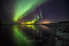 ODINO'S BREATH (Stephen Hunt61) Tags: iceland stars night reflections snow green aurora auroraboreale auroraborealis water sea sky horizon island islanda isola nightphootography nightlights nordic outdoors outdoor landscape landscapes adventure travel stefanocaccia