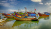 Vietnamese Fishing Boat 2 (rokobilbo) Tags: vietnam river fishingboat fishing sky color tradition