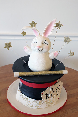 Magic Hat Rabbit Cake