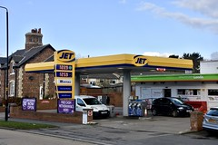 Jet, Newby Scarborough North Yorkshire. (EYBusman) Tags: jet petrol gas gasoline filling service station garage newly scalby road scarborough north yorkshire fina total esso shell gulf penny petroleum eybusman