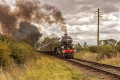 BL_2011_09_03 _060 (Phil_the_photter) Tags: battlefieldline b1 mayflower gwr 3803 steam steamloco steamrailway shackerstone leicestershire shenton 1306 61306