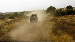 Safari-Tsavo National Park-Kenya (11) (johnfranky_t) Tags: polvere fuoristrada 4x4 johnfranky t pista savana panasonic tz40 tsavo national park kenya kenia africa dust track landscape