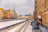 A St Petersburg scene (Tony_Brasier) Tags: st petersburg russia river road raw running cars nikond7200 church buildings sky icecold people peacefull sigma snow snowing lovely location flickr 1750mm fun