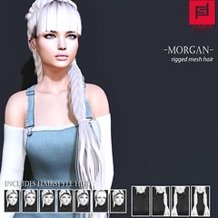 Morgan (FABIA.HAIR) Tags: hair rigged fabia woman nice meef head special second sl secondlife sweet event fashion moda hairstyle life sanarae lovely beauty tress avatar pretty spam style shopping new pictures release look